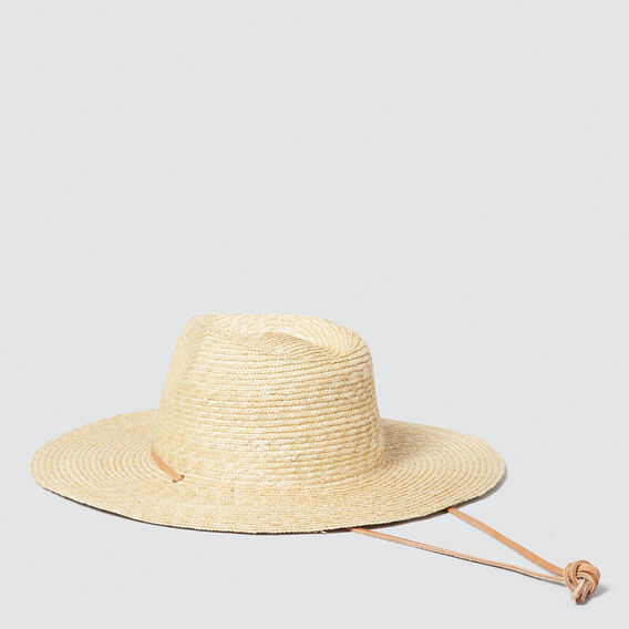 Draw Cord Fedora  NATURAL  hi-res
