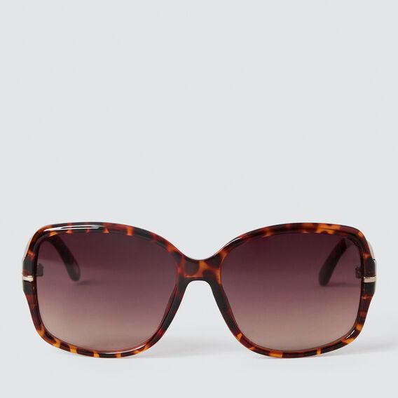 Aimee D-Frame Sunglasses  TORT  hi-res