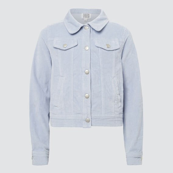 Cord Jacket  BABY BLUE  hi-res