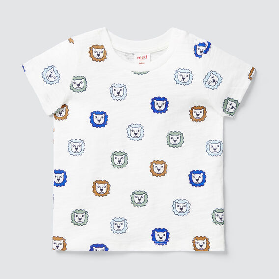 Lion Yardage Tee  VINTAGE WHITE  hi-res