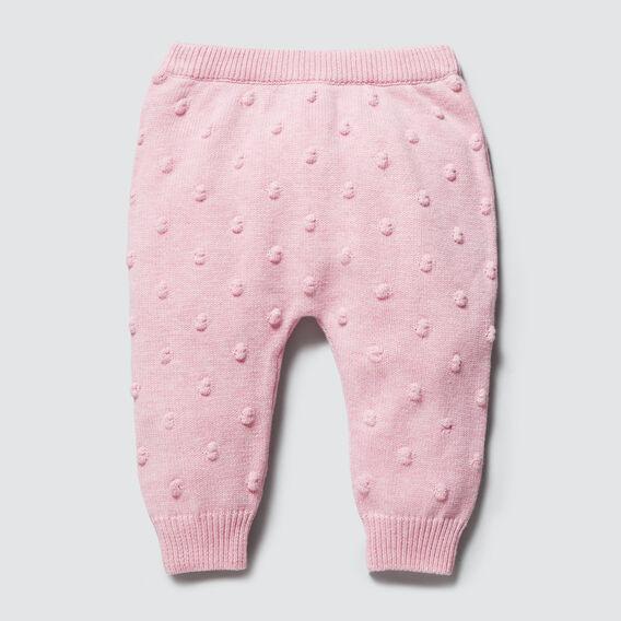 Bobble Knit Pant  BUBBLEGUM MARLE  hi-res