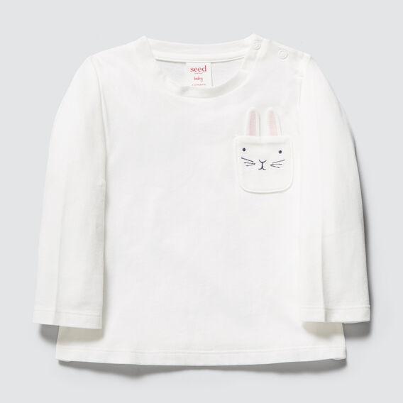 Bunny Pocket Tee  CANVAS  hi-res