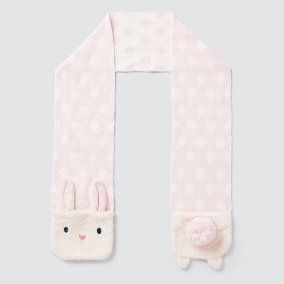 Bunny Mittens Scarf  ICE PINK  hi-res