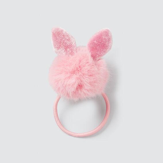 Bunny Pom Pom Elastic  PARISIAN PINK  hi-res