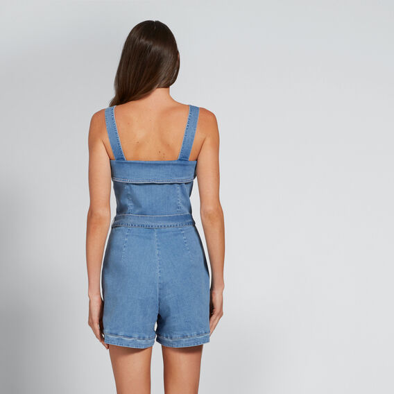 Denim Romper  CLASSIC DENIM  hi-res