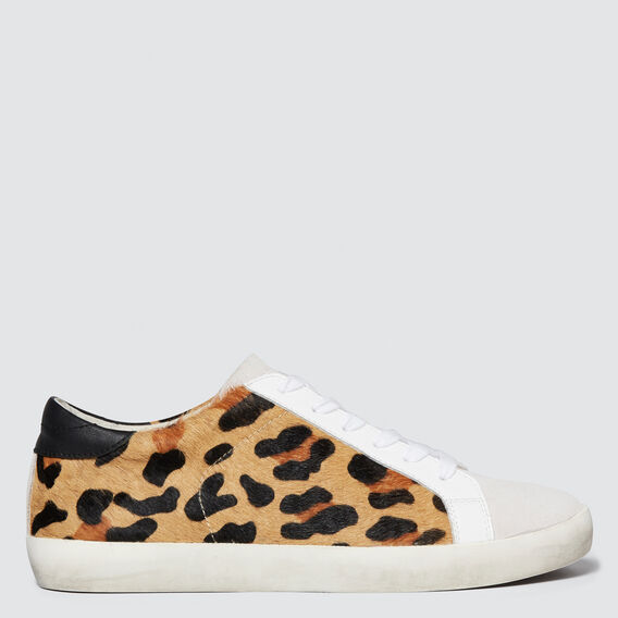 Ollie Leather Sneaker  OCELOT  hi-res