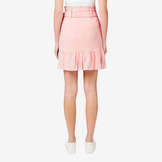 Frill Skirt  SOFT PINK  hi-res