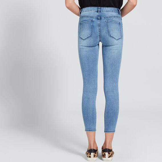 Mid-Rise Skinny Jean  CLASSIC DENIM  hi-res