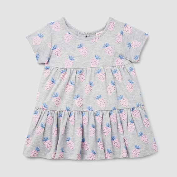 Strawberry Yardage Dress  CLOUD  hi-res