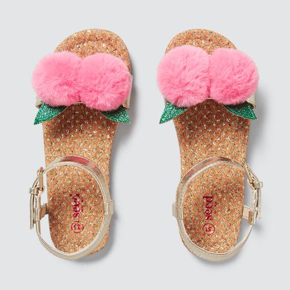 Peach Pom Pom Sandal  PINK  hi-res