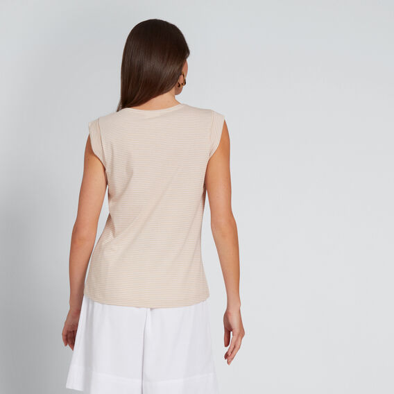 Stripe Tank  NEW NUDE STRIPE  hi-res