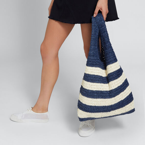 Jojo Shopper  NAVY/NATURAL  hi-res