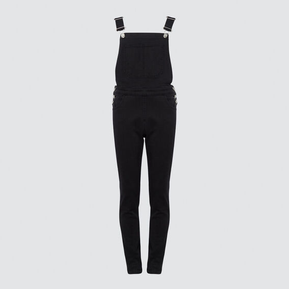 Denim Wash Dungaree  BLACK WASH  hi-res