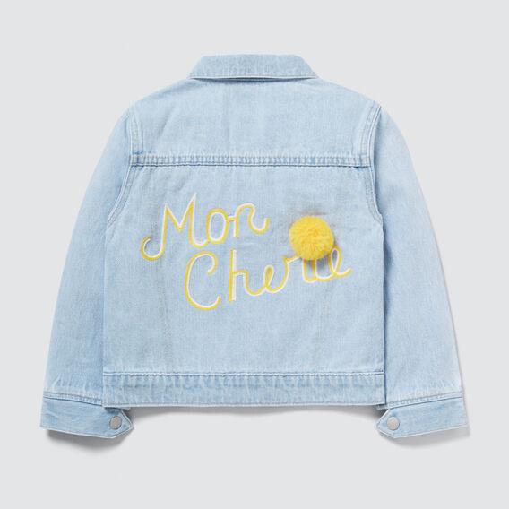 Mon Cherie Denim Jacket  BABY BLUE WASH  hi-res