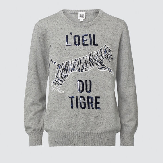 Tiger Sweater  MIDNIGHT MARLE  hi-res