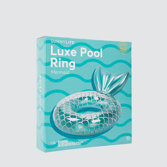 Luxe Mermaid Pool Ring  MERMAID  hi-res