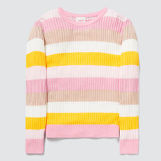 Stripe Rib Sweater  MULTI  hi-res