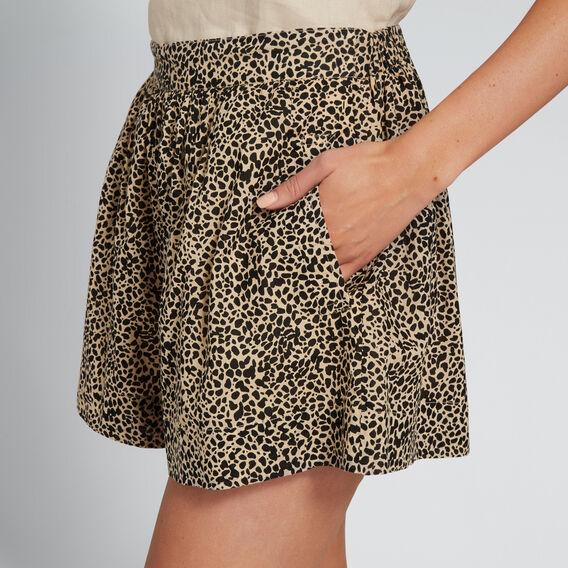 Leopard Print Short  LEOPARD PRINT  hi-res