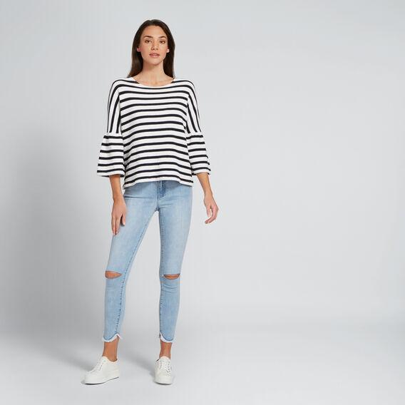 Stripey Tee  DEEP NAVY/WHITE  hi-res