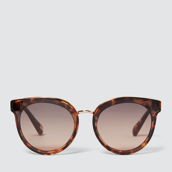 Lauren Round Sunglasses  TORT  hi-res