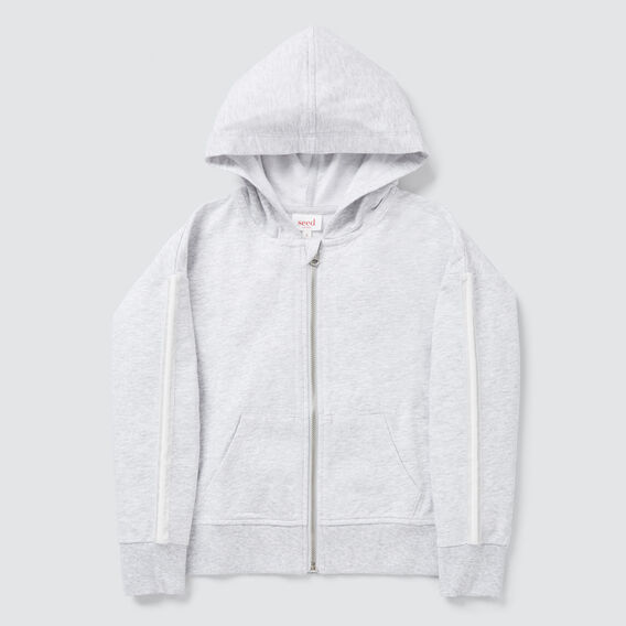 Side Stripe Zip Hoodie  CLOUD  hi-res