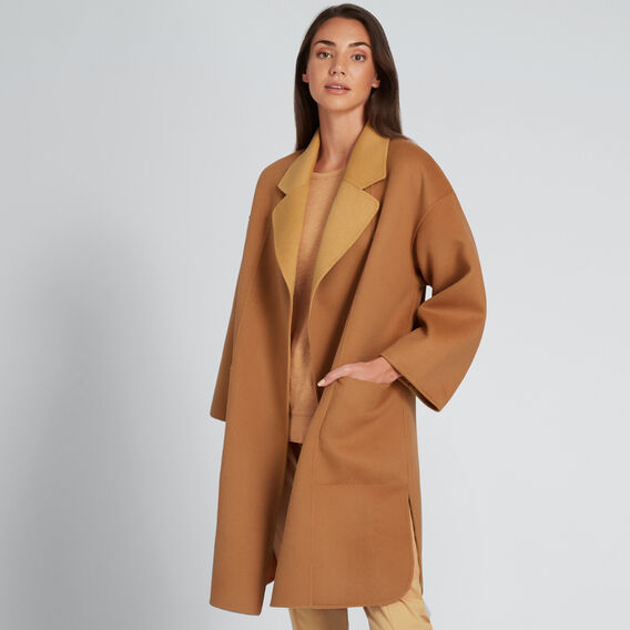 Two Tone Coat  VINTAGE BRONZE/TAN  hi-res
