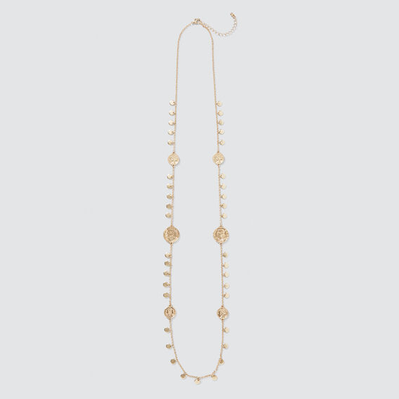 Coin Necklace  GOLD  hi-res