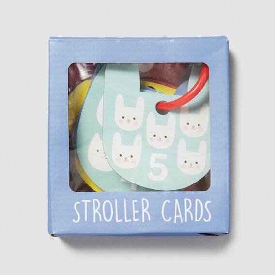 Stroller Cards 5 Set Animal  MULTI  hi-res