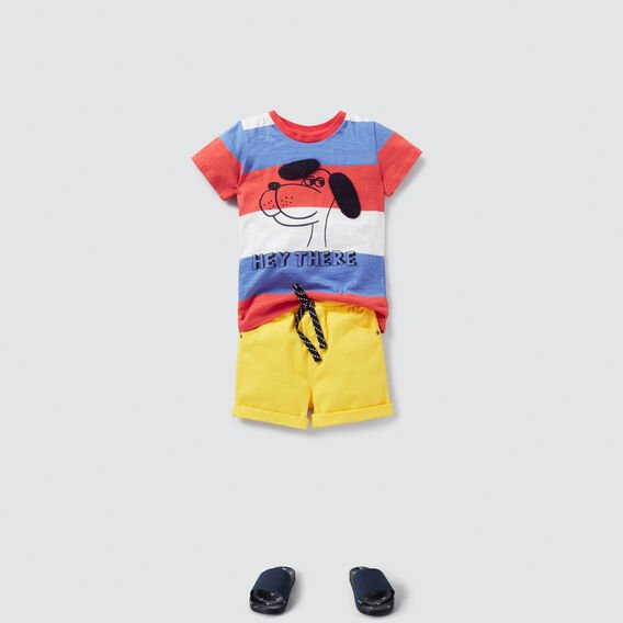 Hey There Dog Tee  MULTI  hi-res