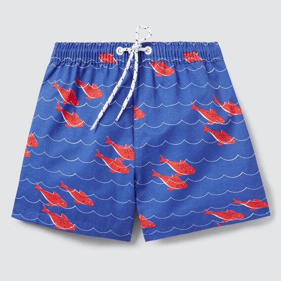 Fish Wave Boardie  BLUE BOLT  hi-res