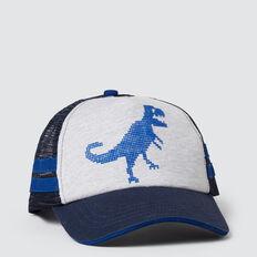 Pixel Dino Cap  DEEP COBALT  hi-res