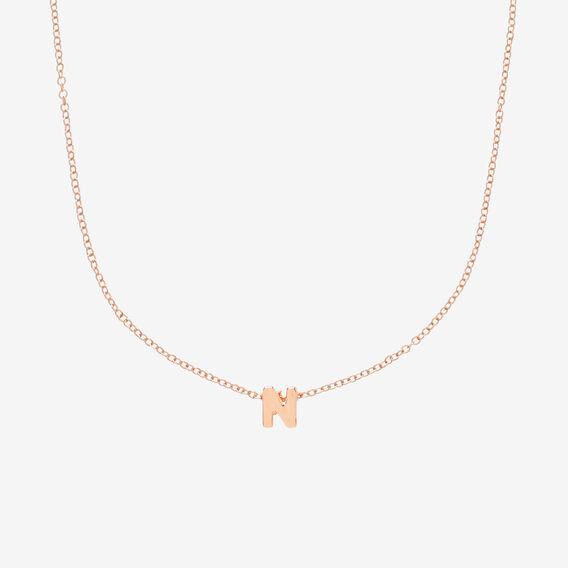Initial Necklace  N  hi-res