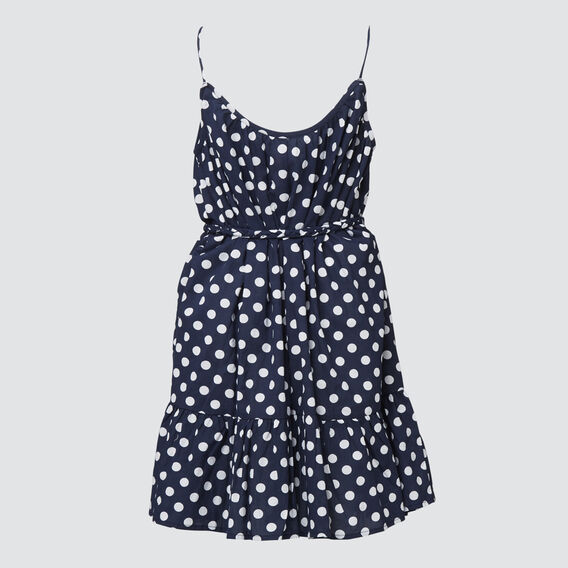 Spot Flounce Dress  MIDNIGHT  hi-res