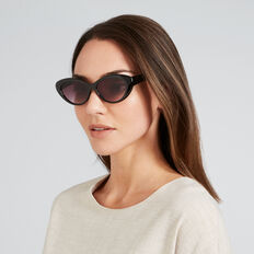 Jane Cats Eye Sunglasses  BLACK  hi-res