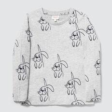 Bunny Yardage Tee  PEBBLE MARLE  hi-res