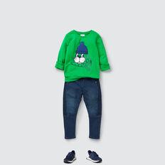 Bunny Chenille Sweater  RETRO GREEN  hi-res