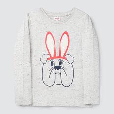 Bunny Tee  CLOUDY MARLE  hi-res