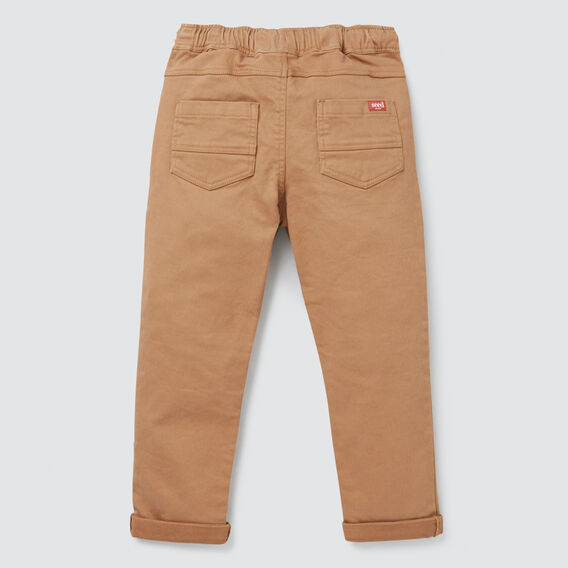 Denim Chino  DARK BISCUIT  hi-res