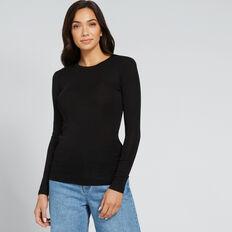 Babywool Layering Sweater  BLACK  hi-res