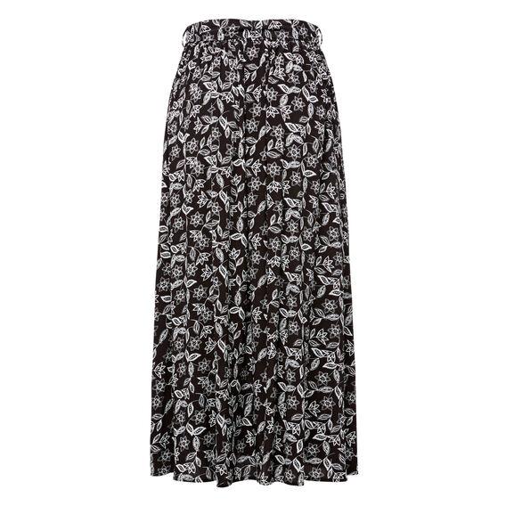 Printed Full Skirt  MULTI  hi-res