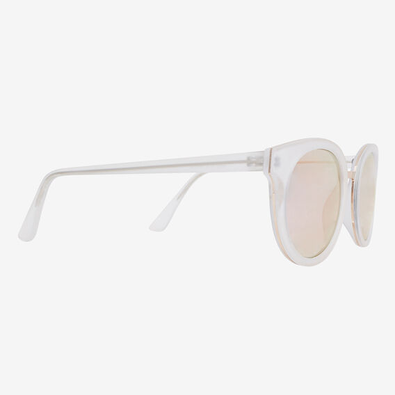 Mia Matte Revo Sunglasses  WHITE  hi-res