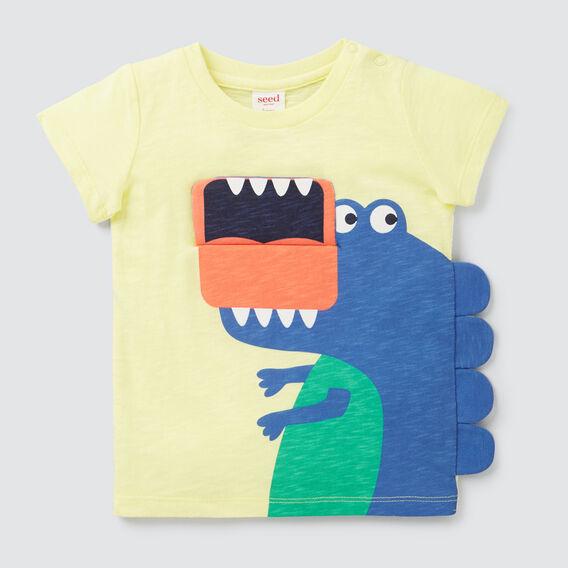 Novelty Dino Flip Tee  PINEAPPLE  hi-res