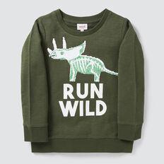 Dino Flip Sequin Sweater  TREETOP  hi-res