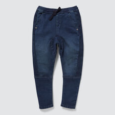 Rib Panel Jean  DARK INDIGO  hi-res