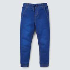 Denim Terry Jogger  BRIGHT INDIGO  hi-res