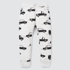 Car Yardage Trackie  CLOUDY MARLE  hi-res