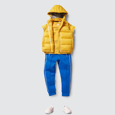 Puffa Vest  LION YELLOW  hi-res