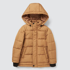 Puffa Jacket  DARK BISCUIT  hi-res