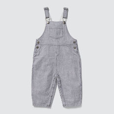 Woven Stripe Overall  MIDNIGHT BLUE  hi-res