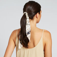 Thin Scarf  FLORAL  hi-res